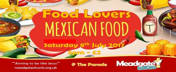 Food Lovers 8th July 2017