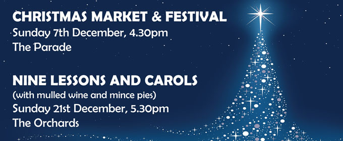 Chelmsford Christmas Market and Festival - Nine Lessons and Carols - Meadgate Church